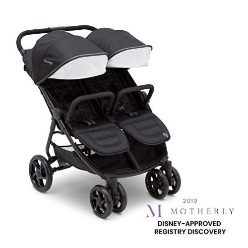 Jeep Destination Ultralight Side x Side Double Stroller