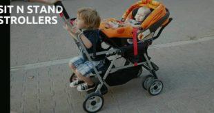 sit n stand strollers