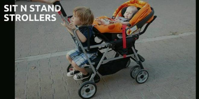 sit n stand stroller