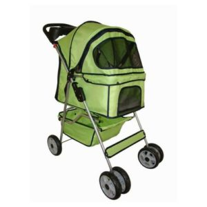 4 Wheels Pet Dog Cat Stroller
