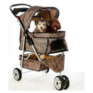 Extra Leopard Wheels Stroller