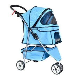 New Blue Pet Stroller