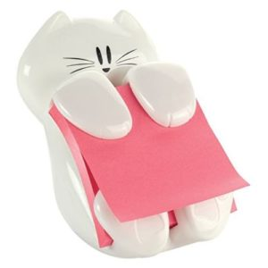 Cat Figure Pop-up Note Dispenser
