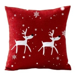 Christmas Snowflake Cushion Decorative Bedroom