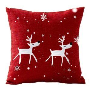 Christmas Snowflake Cushion Decorative Bedroom