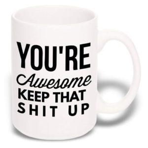 Large Funny Coffee Mug