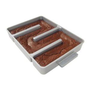 Nonstick Edge Brownie Pan