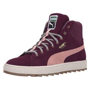 PUMA Women Classic Suede Fashion Sneaker