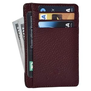 RFID Front Pocket Slim Wallets