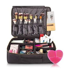 habe Large Travel Makeup Bag