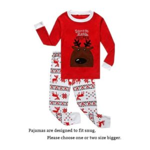 little boys girls christmas pajamas