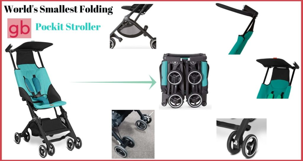 world smallest gb pockit stroller