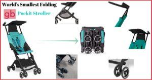 world smallest gb pockit stroller