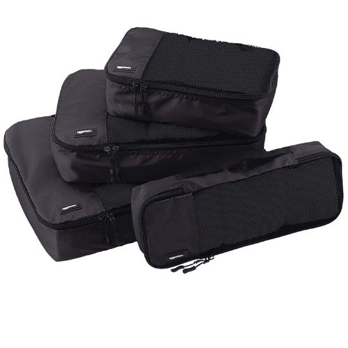AmazonBasics 4 Piece Packing Cube Set