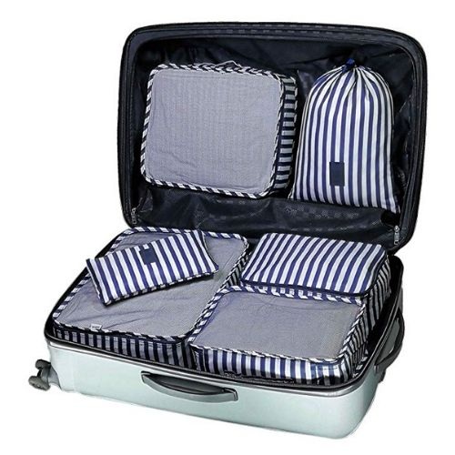 EVEK Packing Cubes for Travel Luggage Organizers