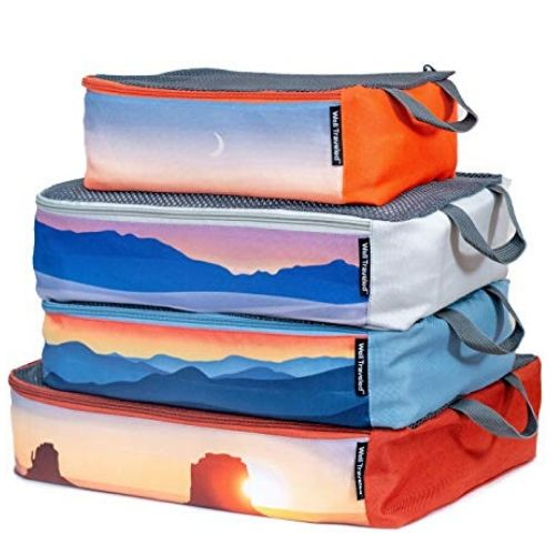 Well Traveled 4-Piece Packing Cubes