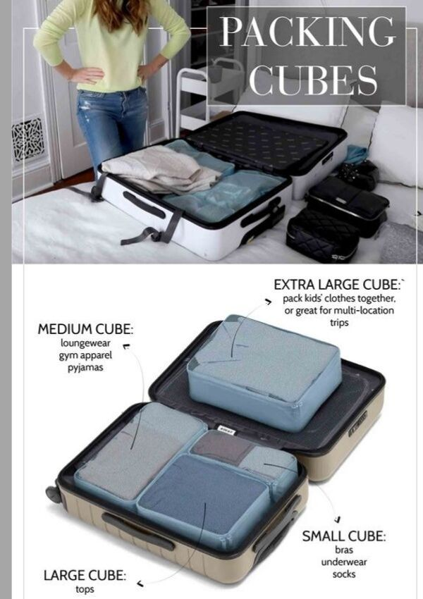 how to use packing cubes