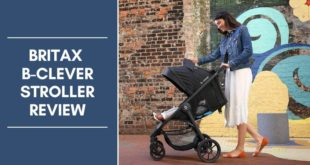 Britax B-Clever Stroller review
