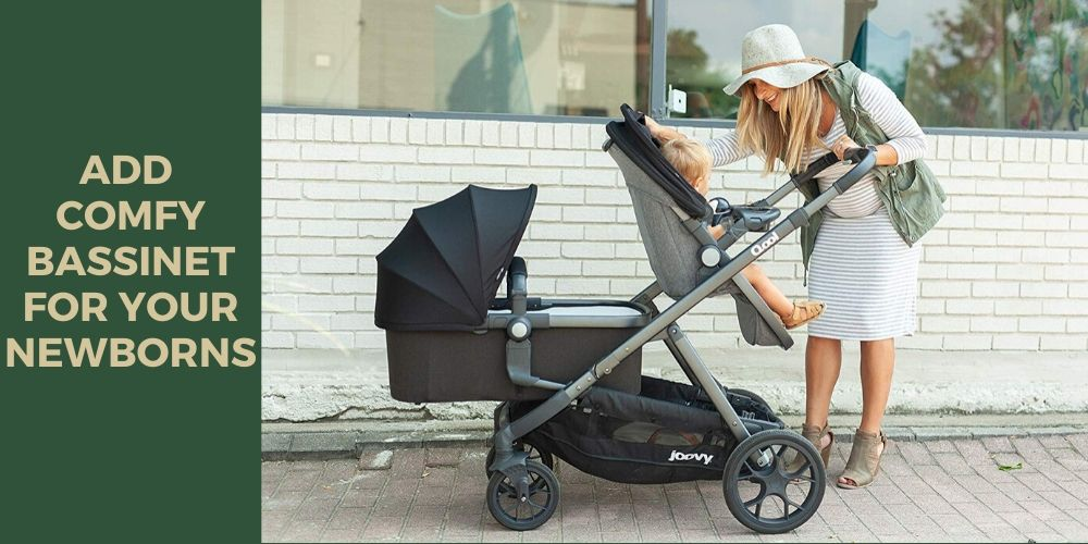 Joovy qool stroller Comfy Bassinet for Newborns