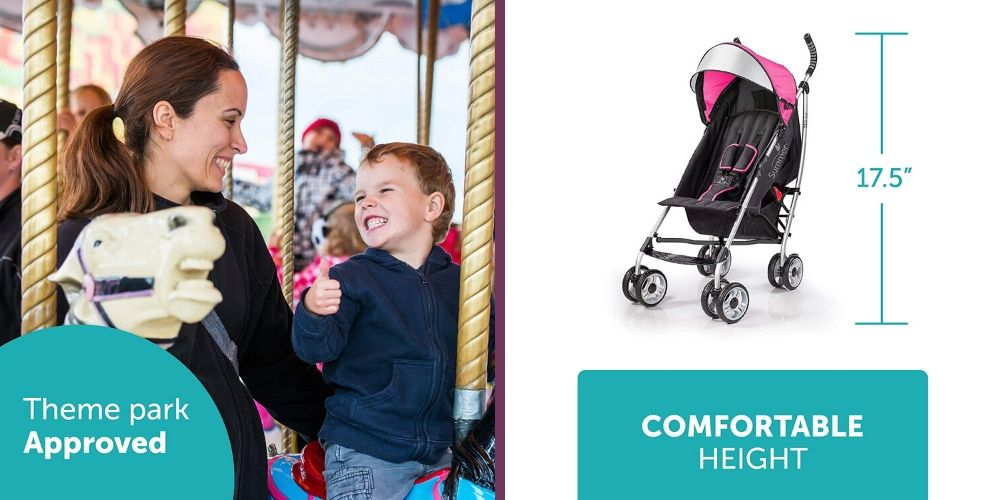 Summer Infant 3Dlite Convenience Stroller review