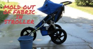 how to get mold out of fabric in stroller