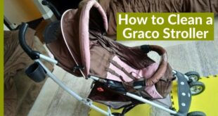 how to clean a graco stroller