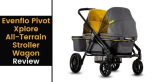 evenflo pivot xplore all terrain stroller wagon review
