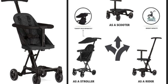 Dream On Me Coast Stroller Rider Review